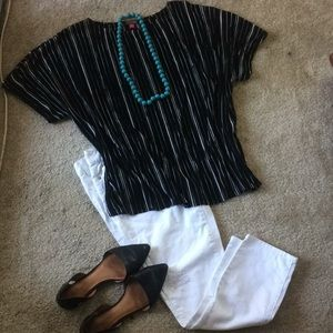 Vince Camuto Short sleeve blouse size 3X